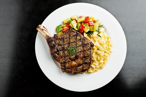 Barbecue Beef「Rib Eye Steak with Macaroni and Cheese」:スマホ壁紙(9)