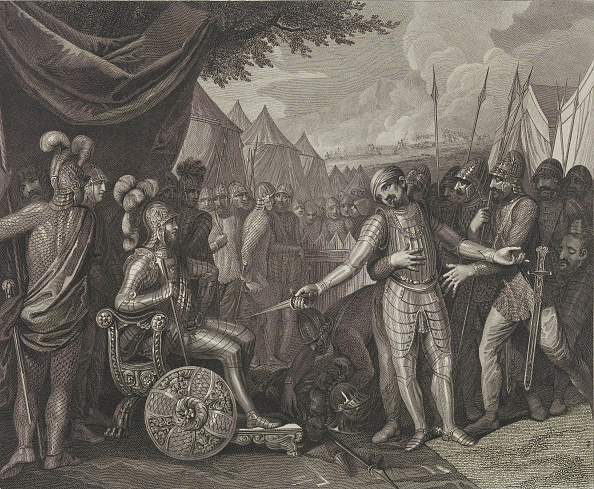 Surrendering「Wichmann Ii The Younger Surrenders To Mieszko I Of Poland」:写真・画像(8)[壁紙.com]