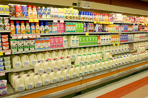 Dairy Product「Dairy Products at the Supermarket」:スマホ壁紙(15)