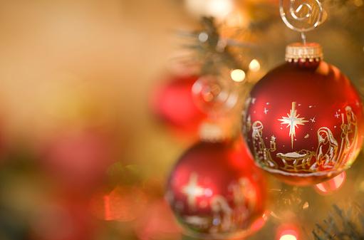 Religion「Nativity Scene Christmas Ornaments」:スマホ壁紙(10)
