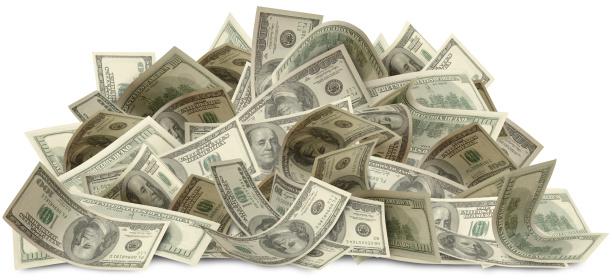 American One Hundred Dollar Bill「Bigger Bucks with path」:スマホ壁紙(8)