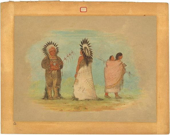 Rug「Two Ottoe Chiefs And A Woman」:写真・画像(14)[壁紙.com]