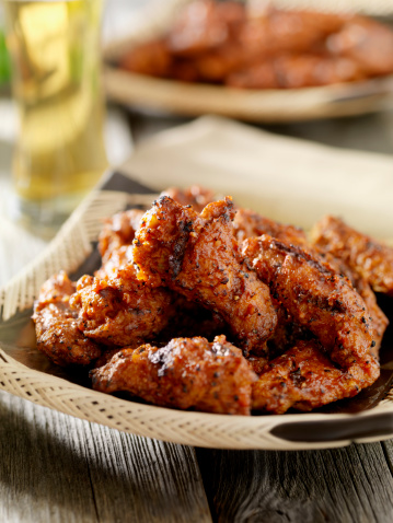 Chicken Wing「BBQ Chicken Wings with a Beer」:スマホ壁紙(9)