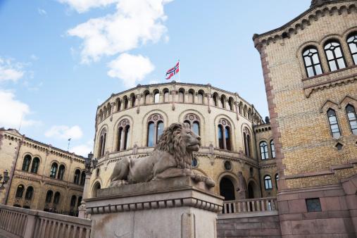 Politics「Norwegian parliament bulding.」:スマホ壁紙(16)