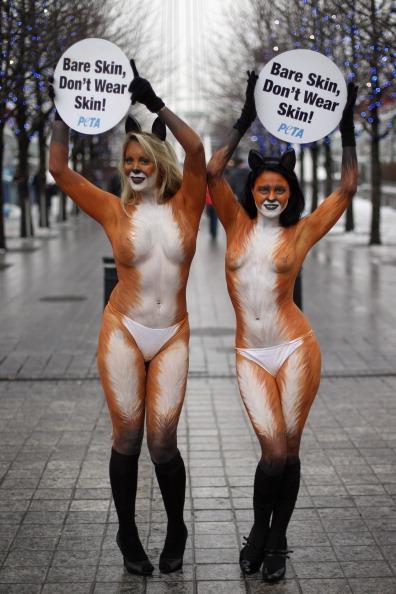 Animal Eye「PETA Anti Fur Campaigners Demonstrate In London」:写真・画像(15)[壁紙.com]