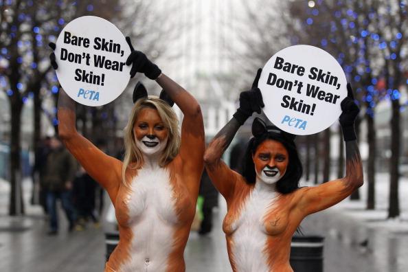 Animal Eye「PETA Anti Fur Campaigners Demonstrate In London」:写真・画像(12)[壁紙.com]