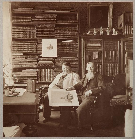 1900「Pyotr Alexandrovich Yefremov And Alexey Petrovich Bakhrushin」:写真・画像(12)[壁紙.com]