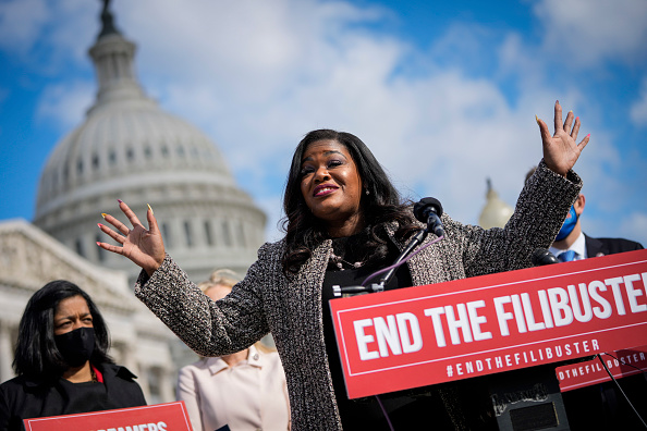 The End「House Democrats Hold Press Conference On Need To End Filibuster」:写真・画像(8)[壁紙.com]