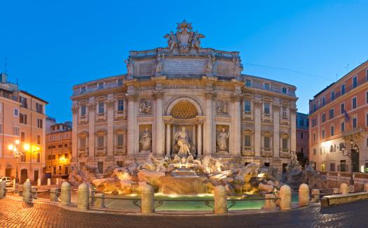 God「Rome Trevi Fountain beautiful piazza ornate baroque landmark Quirinale Italy」:スマホ壁紙(7)
