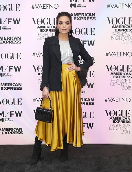 Blazer - Jacket「Vogue American Express Fashion's Night Out - Melbourne」:写真・画像(10)[壁紙.com]