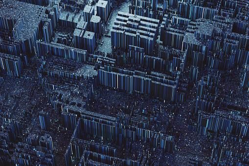 Circuit Board「Abstract geometric background」:スマホ壁紙(6)