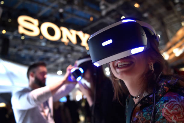 Sony「Latest Consumer Technology Products On Display At Annual CES In Las Vegas」:写真・画像(0)[壁紙.com]