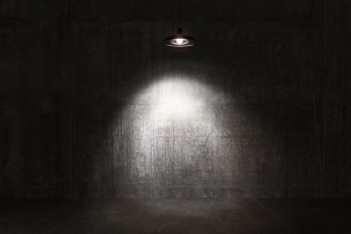 Horror「Empty room, concrete walls and floor」:スマホ壁紙(7)