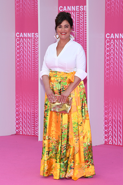 """Metallic Purse「""""Miguel"""" and """"Undercover"""" Pink Carpet Arrivals - The 1st Cannes International Series Festival」:写真・画像(6)[壁紙.com]"""