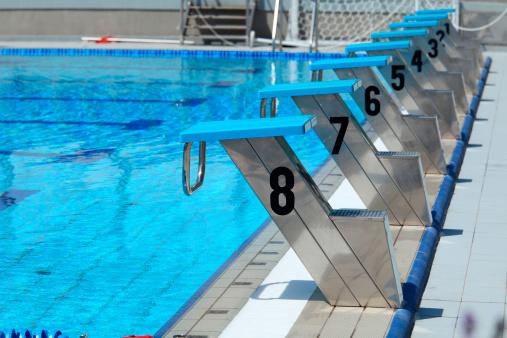Swimming「Start line」:スマホ壁紙(18)