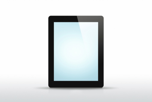 Touch Screen「New Tablet - 2 Clipping paths」:スマホ壁紙(2)