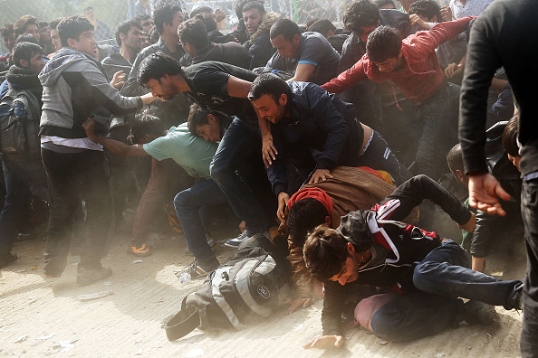 Crisis「Greek Island Of Lesbos Continues To Receive Migrants Fleeing Their Countries」:写真・画像(19)[壁紙.com]