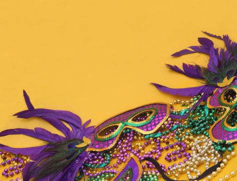 Halloween costume「Mardi Gras in Yellow」:スマホ壁紙(17)