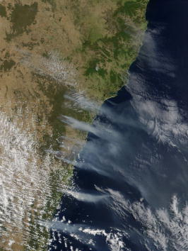 Surrounding「Australian Brush Fires」:写真・画像(1)[壁紙.com]