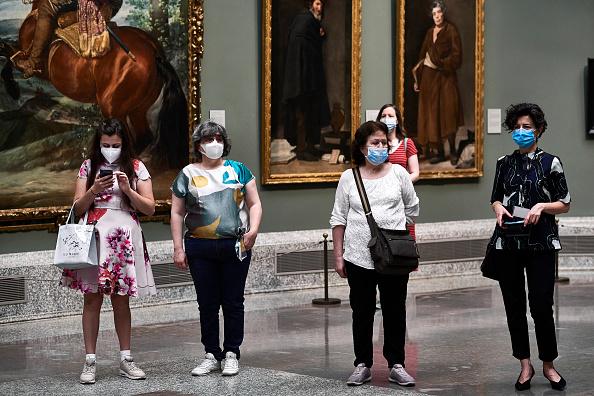 Visit「'El Prado' Museum Reopens In Madrid」:写真・画像(4)[壁紙.com]