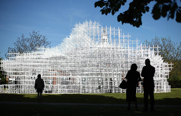 Opening Of The Serpentine Gallery Pavilion Designed By Sou Fujimoto:ニュース(壁紙.com)
