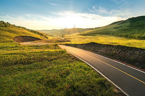 Wide Angle「Mountain Road」:スマホ壁紙(15)