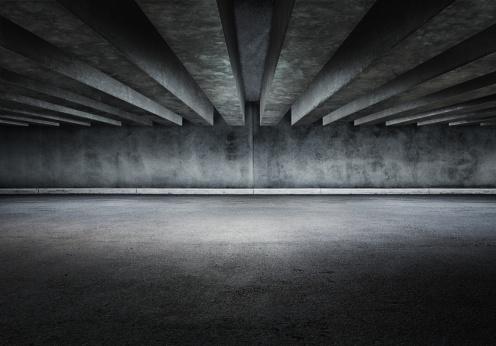 Concrete「Concrete parking lot」:スマホ壁紙(11)