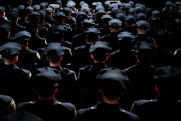 Police Force「NYPD Graduation Ceremony Held At Madison Square Garden」:写真・画像(10)[壁紙.com]