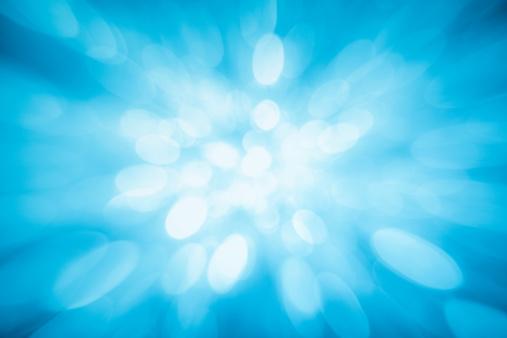 High Key「Blue sparkles」:スマホ壁紙(2)
