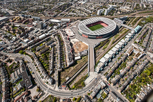Stadium「Aresenal Stadium from the air」:スマホ壁紙(2)