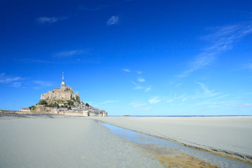 Castle「Mont Saint Michel, France」:スマホ壁紙(14)