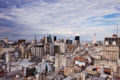 Buenos Aires「Buenos Aires Skyline」:スマホ壁紙(4)
