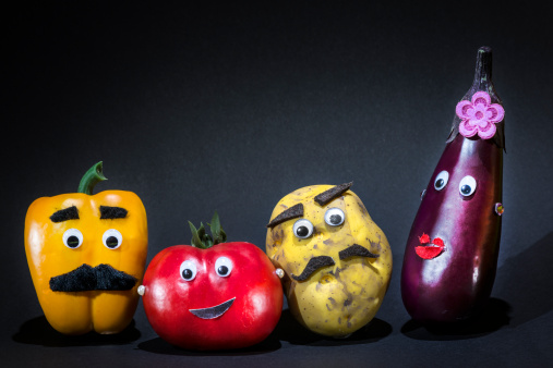 Annual Event「Funny vegetables」:スマホ壁紙(13)