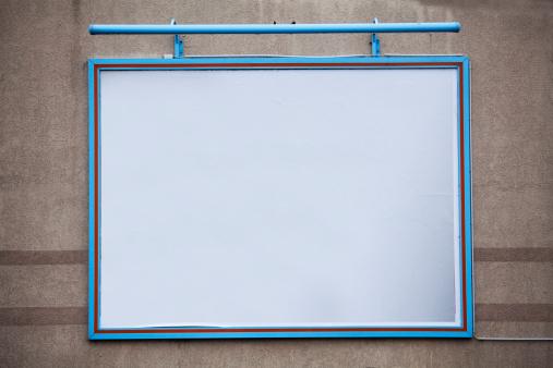 Projection Screen「Blank large billboard on a wall」:スマホ壁紙(4)