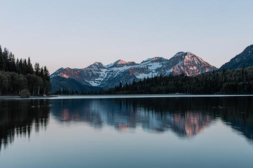 Mountain Range「American Fork Canyon, Utah, America, USA」:スマホ壁紙(1)