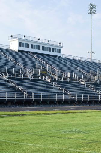 Stadium「American Football Field at Football Game」:スマホ壁紙(16)