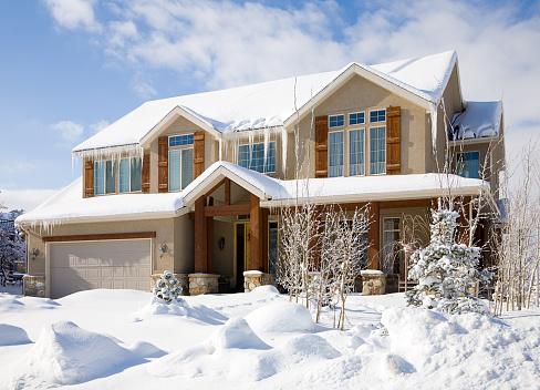 Front Door「Snow Covered House」:スマホ壁紙(5)