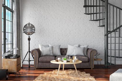 Bedroom「Loft Room with Sofa」:スマホ壁紙(15)