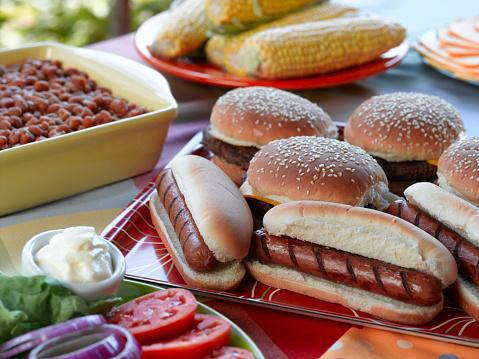 Hamburger「Picnic」:スマホ壁紙(19)