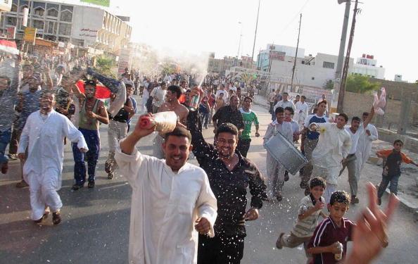 アジアカップ「Iraqi Football Fans Celebrate Victory in AFC Asian Cup」:写真・画像(6)[壁紙.com]