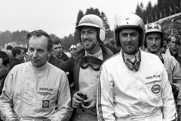 Spa「John Surtees, Jo Bonnier, Jack Brabham, Jo Siffert, Grand Prix Of Belgium」:写真・画像(4)[壁紙.com]