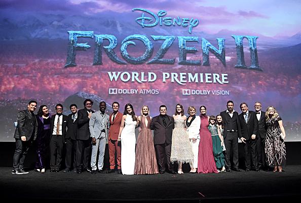"Film Premiere「World Premiere Of Disney's ""Frozen 2""」:写真・画像(0)[壁紙.com]"