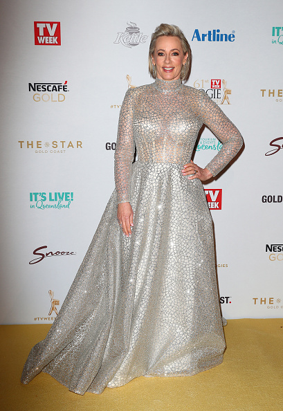 Metallic Dress「2019 TV WEEK Logie Awards - Arrivals」:写真・画像(9)[壁紙.com]