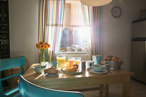 Breakfast「Laid breakfast table」:スマホ壁紙(13)