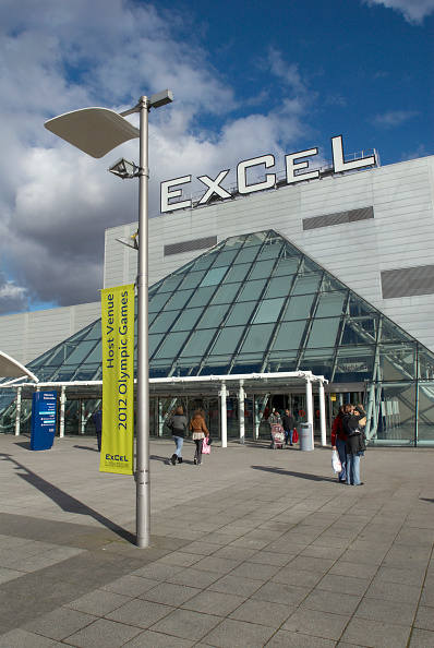 Outdoors「Excel Centre at Royal Victoria Dock, East London, UK」:写真・画像(19)[壁紙.com]