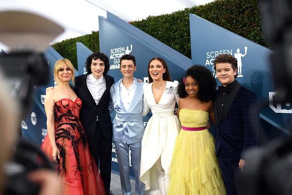 Noah Schnapp「26th Annual Screen ActorsGuild Awards - Red Carpet」:写真・画像(5)[壁紙.com]