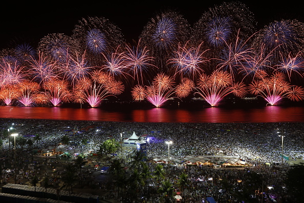 New Year's Eve「Rio de Janeiro Rings In The New Year」:写真・画像(17)[壁紙.com]