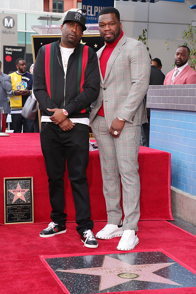 "Tony Yayo「Curtis ""50 Cent"" Jackson Is Honored With A Star On The Hollywood Walk Of Fame」:写真・画像(1)[壁紙.com]"