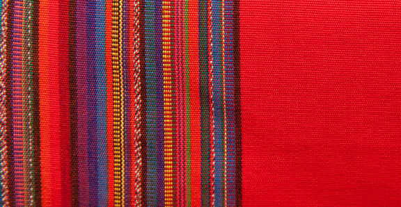 Central America「Blanket Detail with Latin American Color Pattern」:スマホ壁紙(2)