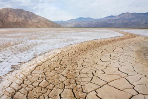 Climate Change「Clark Dry Lake, Anza Borrego Desert State Park California, USA」:スマホ壁紙(5)